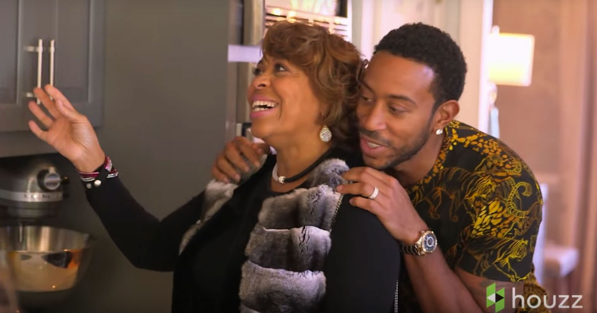 Happy Mother's Day: Ludacris Surprises His Mother with ...
