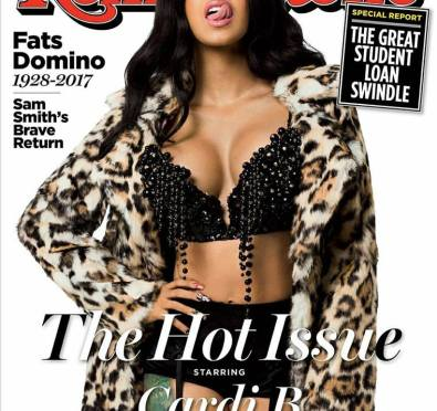 Cardi B Blazes Cover For 'Rolling Stone' Magazine's 'The Hot Issue'