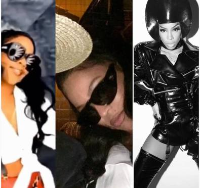 Halloween 2017: Beyonce & Jay-Z Attend Kelly Rowland's Party as Lil Kim & The Notorious B.I.G., Kelly & Husband Go As Grace Jones & Eddie Murphy In 'Boomerang' [Photos]
