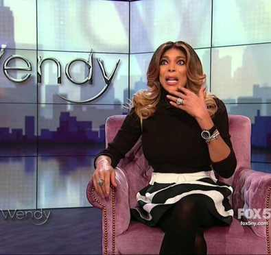 Watch: Wendy Williams Addresses Her Alarming Halloween Show Fainting Scare