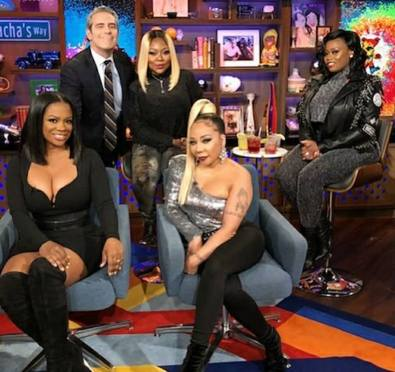 The Shade Is STILL REAL: Xscape Confirms New Music WITHOUT Kandi, The Girls Throw MASSIVE Shade & Andy Cohen Stirs The Pot In SUPER AWKWARD 'WWHL' Interview+Fans React [Video]