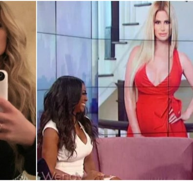 "Kim Zolciak Biermann Claps Back at Kenya Moore Following Shady 'Wendy' Interview ""My Hubby Made More In One Year Than She Made In a Lifetime"""