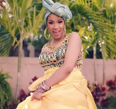 Watch: Cardi B 'I Like It' Teaser Unveiled In New 'YouTube Music' Streaming Service Commercial