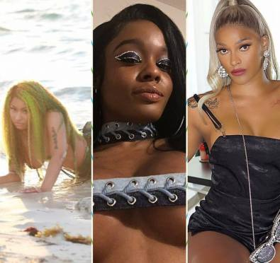 """Must See: Azealia Banks GOES IN On Nicki Minaj For """"Stealing"""" Mermaid Concept, Compares To Nicki Stealing From Lil' Kim+Joseline Hernandez Jumps In, Comes For Nicki [Photos]"""