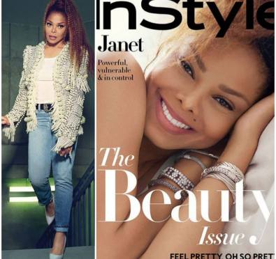 Janet Jackson Graces 'Beauty Issue' of 'In Style' Magazine [Photos]