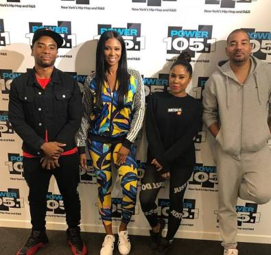 Must See: Jennifer Williams Dishes on Skipping 'Basketball Wives' Reunion, Admits To Plot To Bring Evelyn Down with Tami, Comes For Shaunie, Tami & Malaysia+Whether She Will Return Next Season at 'The Breakfast Club'