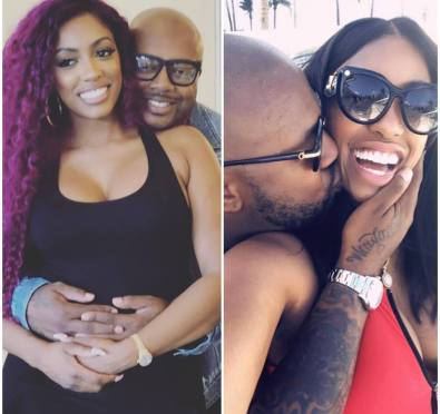 It's Official: Porsha Williams Confirms She and Boyfriend Dennis McKinley Are Expecting Their First Child [Photos/Video]