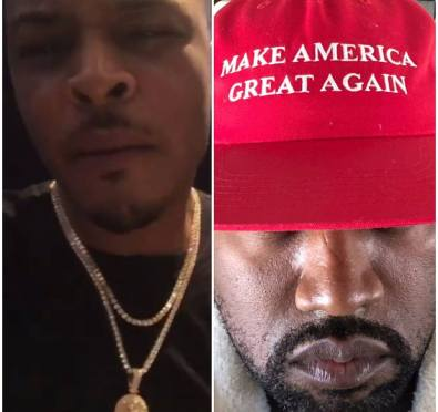 """Must See: T.I. Goes ALL THE WAY IN and OFF on Kanye West For His """"Repulsive"""" Trump Lunch, Says He Will Slap The F*** Out of Kanye"""