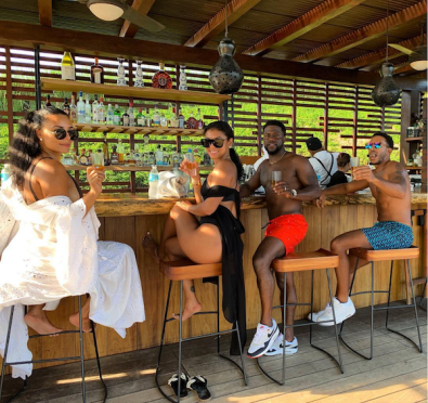 Baecation Goals: Ludacris, Eudoxie, Kevin Hart & Eniko Hart Live Their Best Lives In Mexico For Annual Couples Vacation [Photos/Videos]