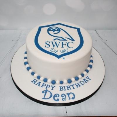 Sheffield Wednesday Badge Cake