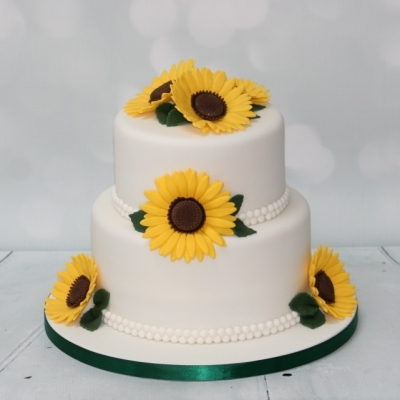 Sunflower Cake 2 Tier