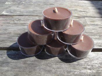 French Vanilla Tea Light Candles | Jojo's Candle Company