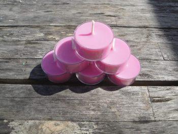 Jasmine Gardenia Tea Light Candles | Jojo's Candle Company