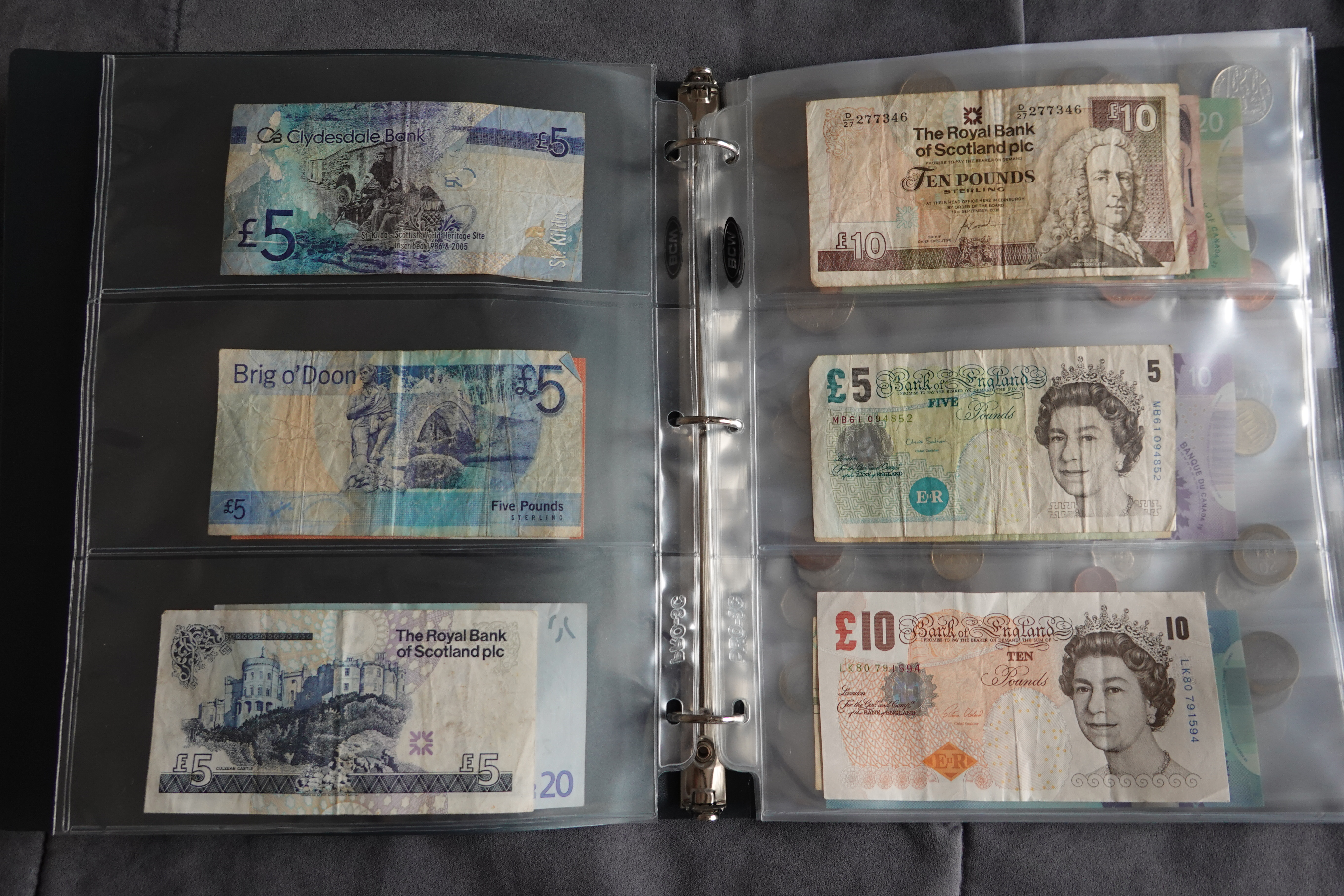 My Currency Collection