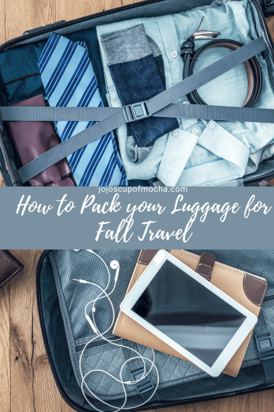 How to Pack your Luggage for Fall Travel