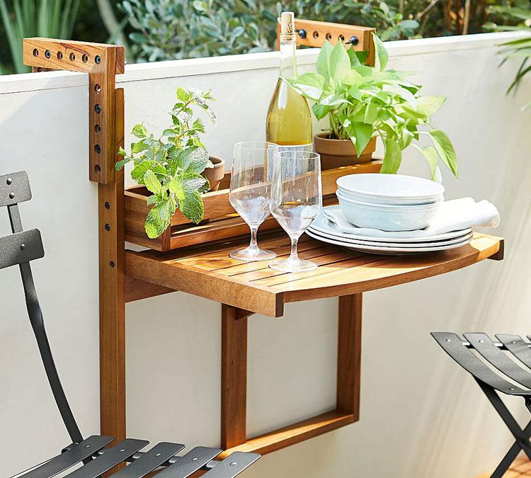 Outdoor Furniture Small Space Novocom Top, Small Space Outdoor Furniture
