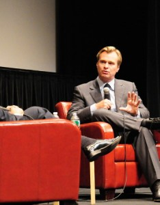 Christopher nolan at the walter reade theater in photo by julie cunnah also take  seat historic film society of rh filmlinc