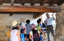 門が多い 姫路城