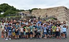 7月23日 江戸城天守石垣前
