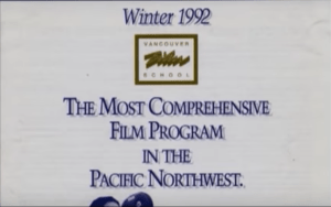 a picture of the vancouver film school 1992 Winter program