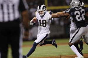 Cooper Kupp runs after the catch and is one of the smarter picks for your Daily Fantasy Lineup in Week 9