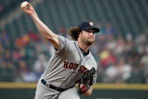 gerrit cole delivers a pitch after being traded by the pirates to the astros as bob nutting started his rebuild