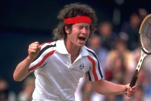 john mcenroe protests a call at wimbeldon in 1980