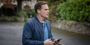 Michael C Hall as Tom Delaney in the new Netflix drama Safe should i watch this