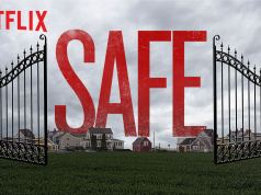 The title card for the new Netflix drama Safe starring Michael C Hall