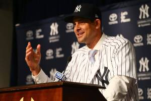 Aaron Boone's press conference when he was named manager what went wrong for the 2018 new york yankees