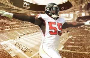 Nothing Came Easy for Falcons LB De'Vondre Campbell