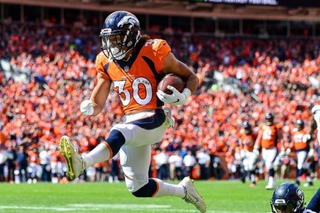 Phillip Lindsay and more Week 13 Sneaky Plays for your daily fantasy lineup
