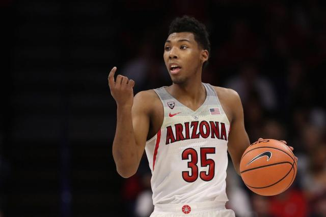 Allonzo Trier during his freshman season at the University of Arizona. Allonzo Trier Undrafted to Rookie Revelation.