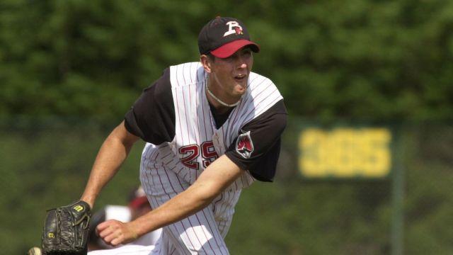 Luke Hagerty at Ball State University. Luke Hagerty comeback to baseball.