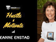 "Jeanne Enstad interview on Hustle & Motivate, presented by Joker Mag, the home of the underdog. Jeanne discusses her two visits to heaven as well as her book ""A Journey of Hope to Heaven & Back"""