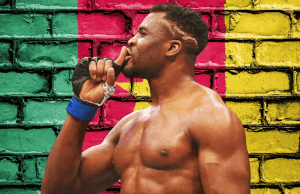 Francis Ngannou story from homeless and poor to top UFC heavyweight fighter