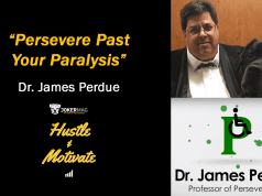 "Interview with Dr. James Perdue ""The Professor of Perseverance"" on Hustle & Motivate, a podcast presented by Joker Mag, the home of the underdog"