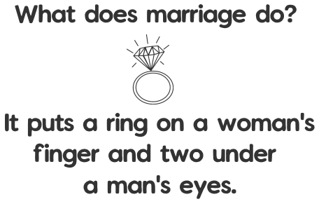 Marriage joke