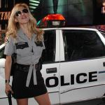 blonde woman blonde policewoman