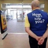 This WalMart greeter's message to a terrible mother will crack you up.