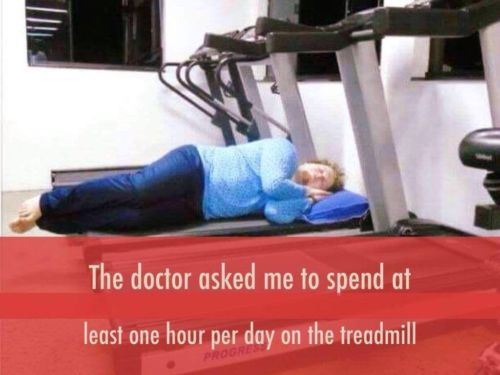 How to spend time in treadmill