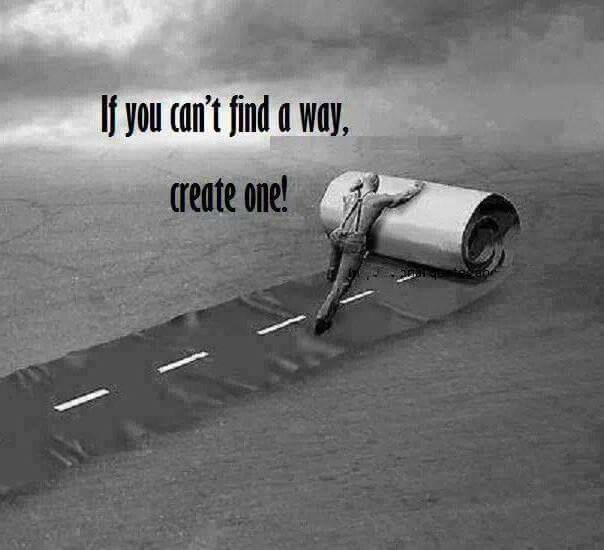 create your own way