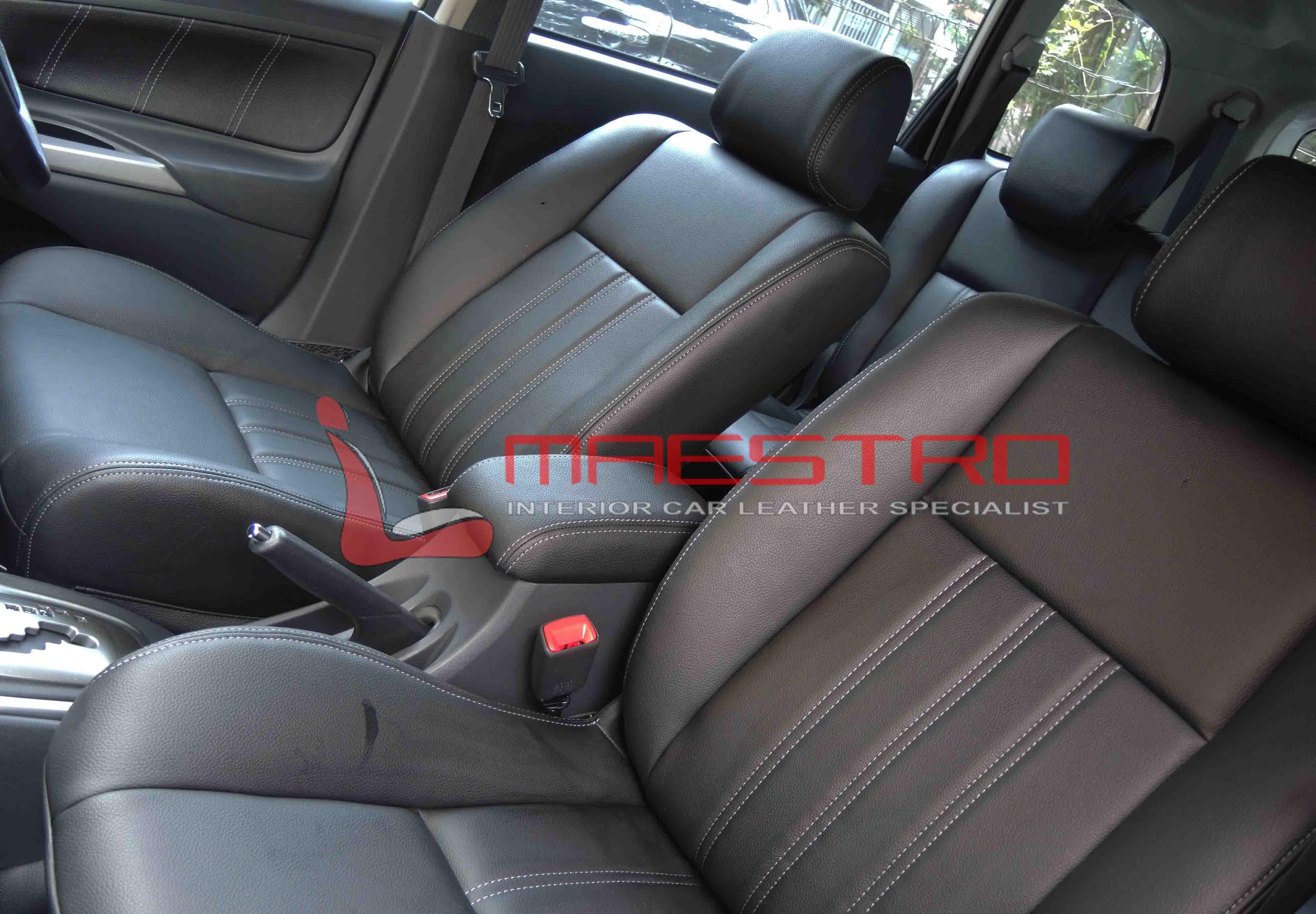 interior grand new avanza 2018 all vellfire 2017 cover jok paten toyota 1 5 veloz maestro pemilihan warna ini menyesuaikan dengan mobil yang juga hitam dan memang kain asli bawaan pabriknya berwarna