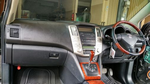 Dashboard Harrier After Repair