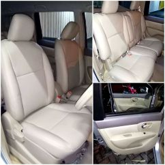 Cover Jok Grand New Avanza All Kijang Innova Vs Crv Nissan Livina Project Specialist Mobil Surabaya Elegant Model Sofa Kancing