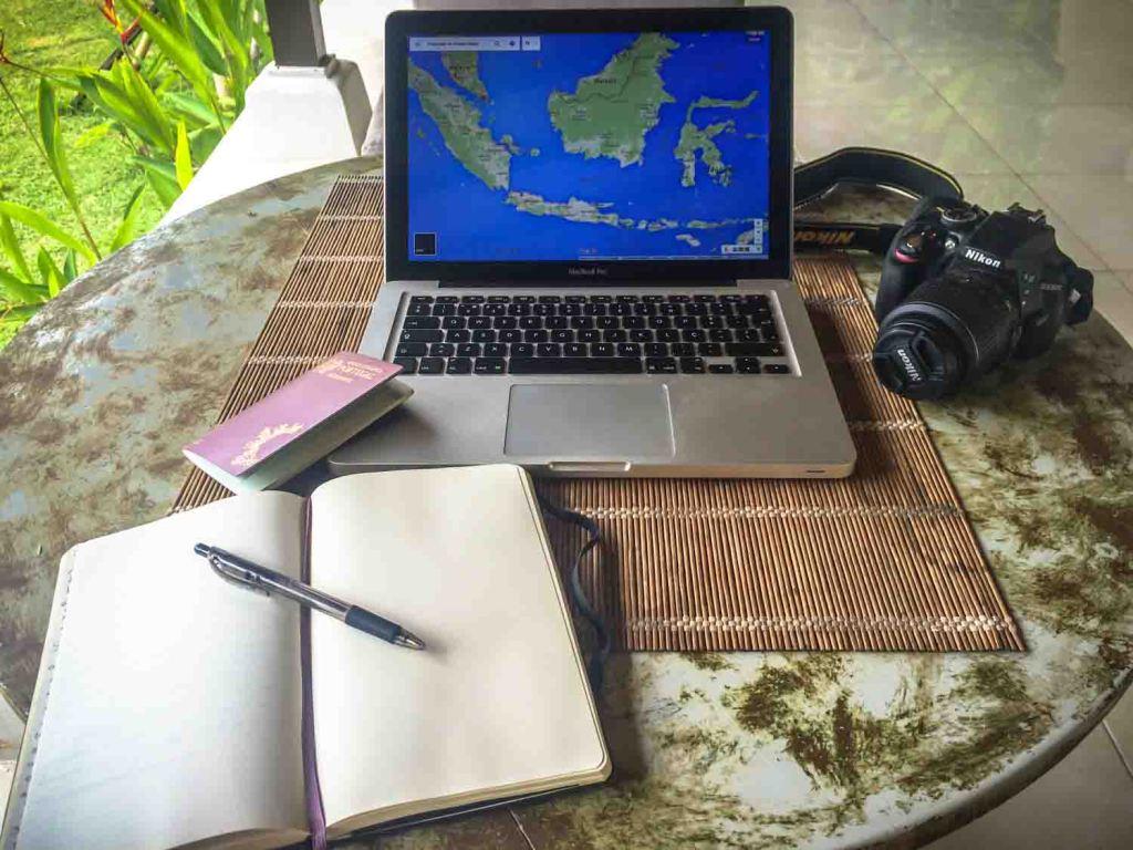 Planear uma viagem