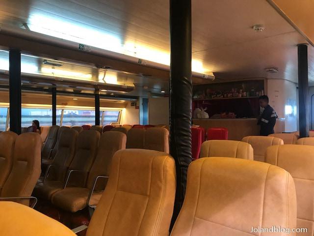 Interior do ferry