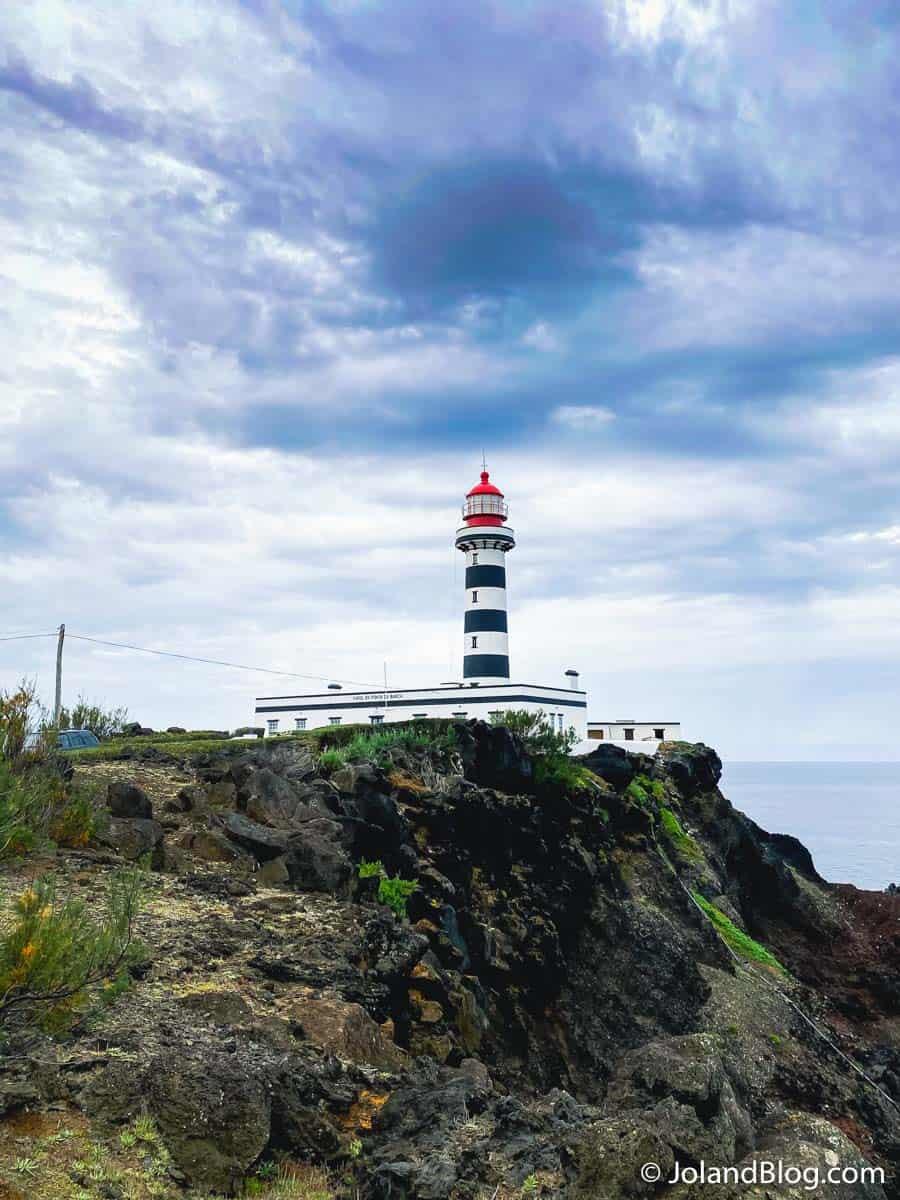Farol Ponta da Barca - O que ver e fazer na Ilha Graciosa
