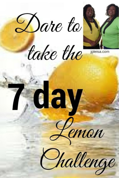 The 7 day Lemon Challenge