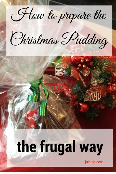 Preparing Christmas Pudding the Frugal Way